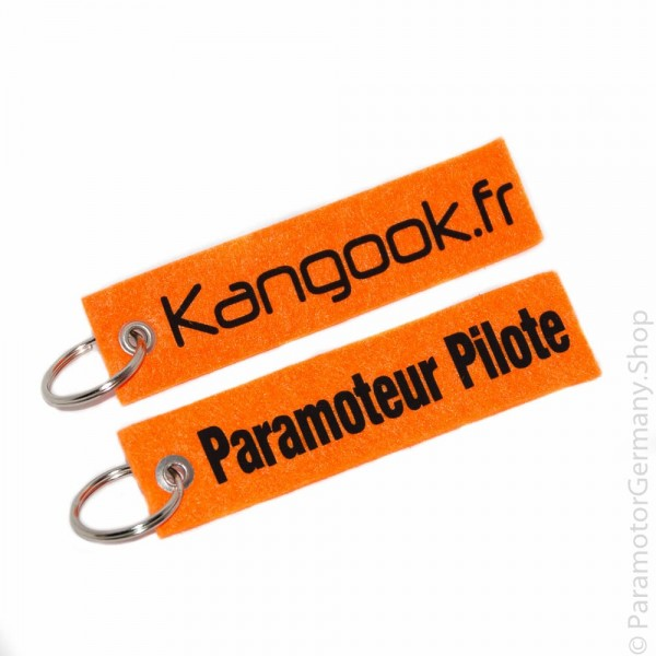 Kangook.fr / Paramotor Pilot - Schlüsselanhänger