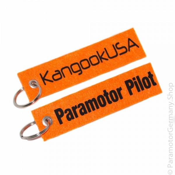 KangookUSA / Paramotor Pilot - Schlüsselanhänger