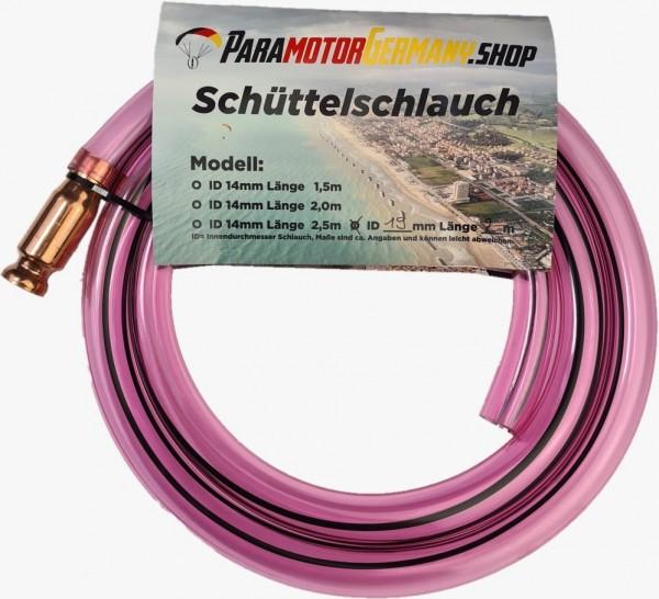 Motorschirm Schüttelschlauch XL 19mm ID Pumpschlauch mit Kupferventil