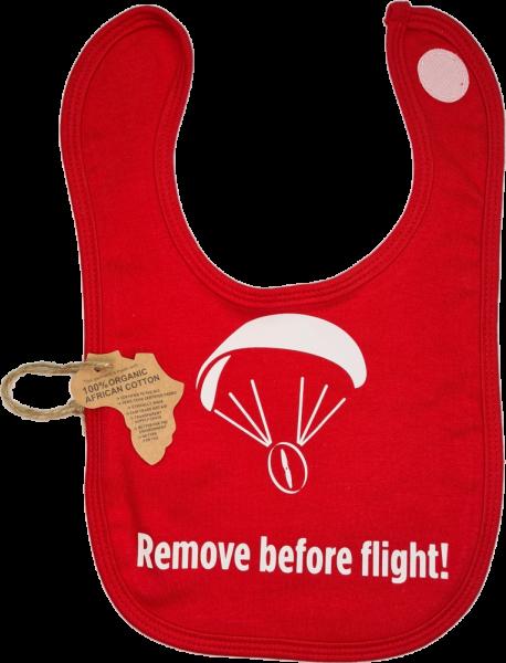 Baby Latz Bib Remove before Flight! Paramotor Motorschirm Lätzchen