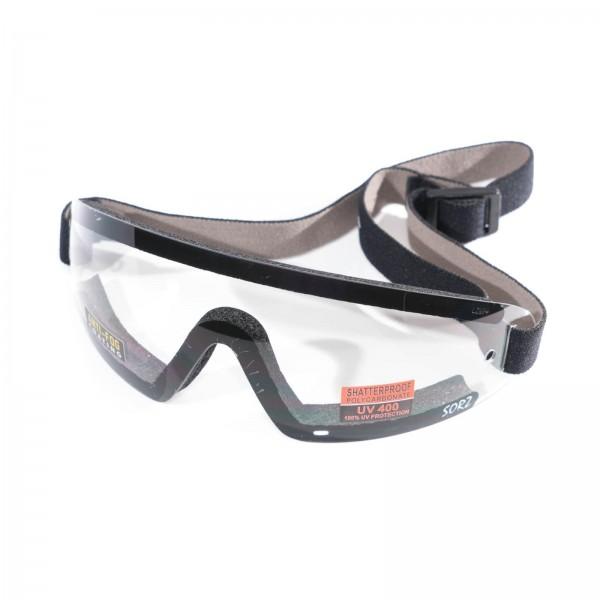 Klare Transparente Brille für Motorschirm Gleitschirm Fallschirm