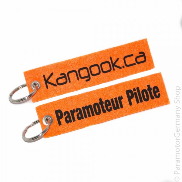 Kangook.ca / Paramotor Pilot - Schlüsselanhänger