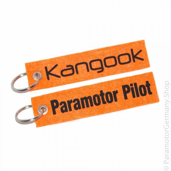 Kangook / Paramotor Pilot - Schlüsselanhänger
