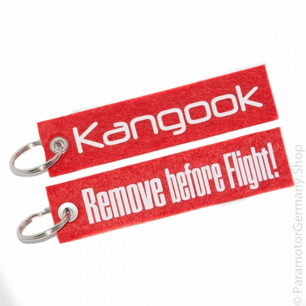 Kangook / Remove before Flight - Schlüsselanhänger