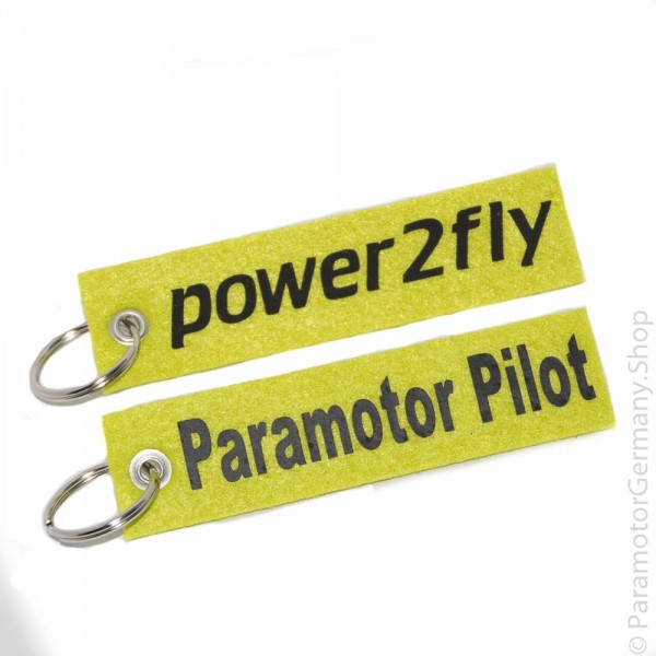 Power2Fly / Paramotor Pilot - Schlüsselanhänger
