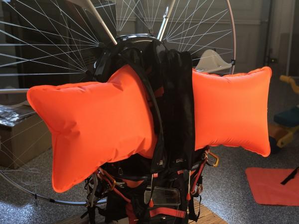 PPG Smoke Float System - Automatische Schwimmhilfe für Motorschirm Paramotor Trike