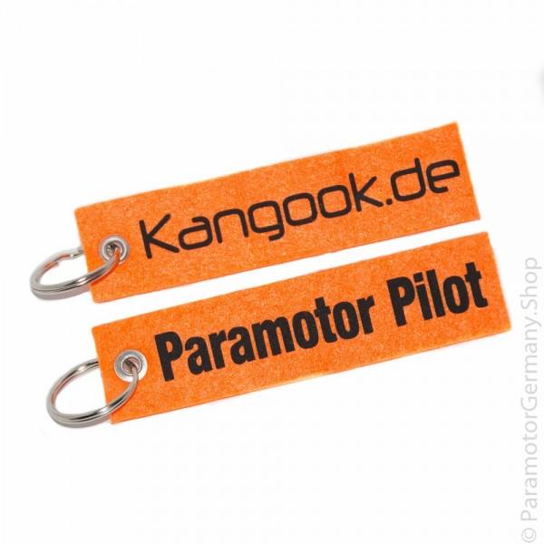 Kangook.de / Paramotor Pilot - Schlüsselanhänger
